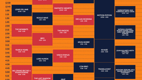 Survival Guide: Outside Lands stage times announced