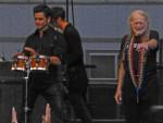 Willie Nelson, John Stamos