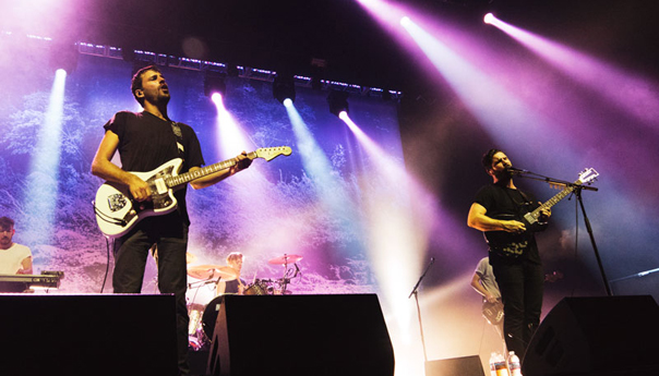 Review: Foals turn anxiety into release at the Fox Theater