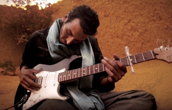 African nomad guitarist Bombino used to herd goats