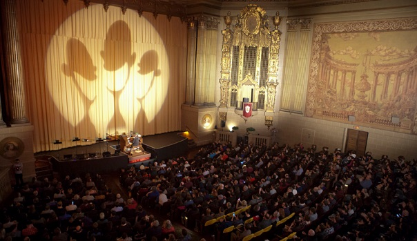 Organist David Hegarty plays at SF Sketchfest at The Castro Theatre on Jan. 7, 2016.