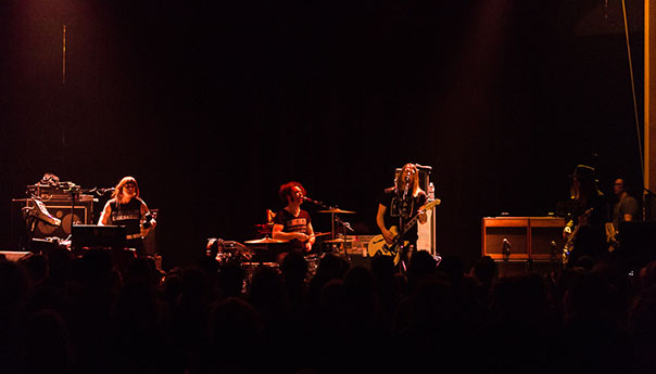 Review: Dandy Warhols energized at the Mystic