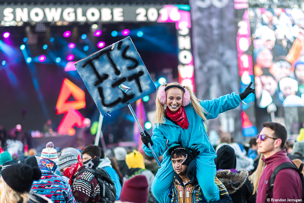 SnowGlobe Music Festival, live music, crowd, crowd shot