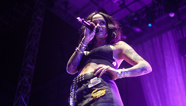 Photos: Kehlani returns home and leads by example