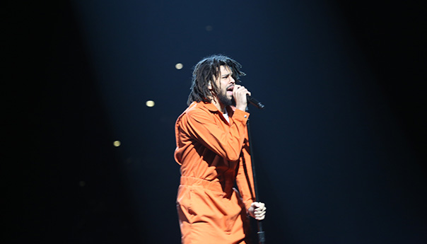 Photos: J. Cole, Ari Lennox and J.I.D at Oracle Arena