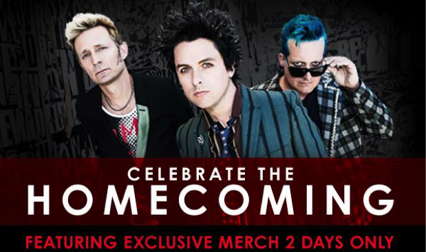 1-2-3-4 Go! Records to host Green Day pop-up shop for homecoming show