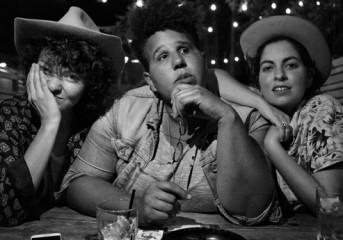 Friends Brittany Howard, Becca Mancari & Jesse Lafser find Bermuda Triangle