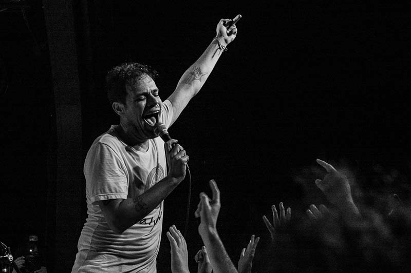 REVIEW: Jeff Rosenstock delivers fury in L A , preps for