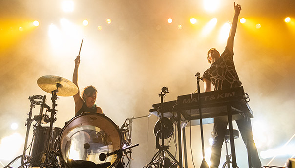 REVIEW: Matt & Kim make a comeback at the Warfield