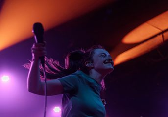 PHOTOS: Sigrid gets comfy at the Independent