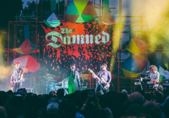 REVIEW: The Damned, Giuda, Nobunny rock Burger Boogaloo Sunday