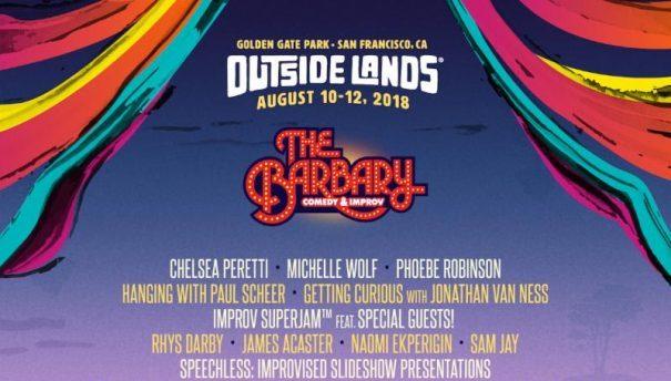 Outside Lands, Outside Lands 2018, Barbary tent