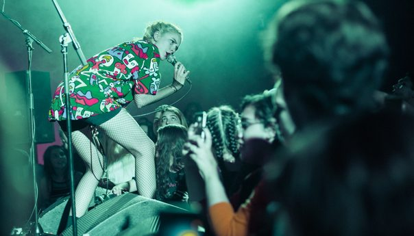 The Regrettes rage against the machine at the Chapel
