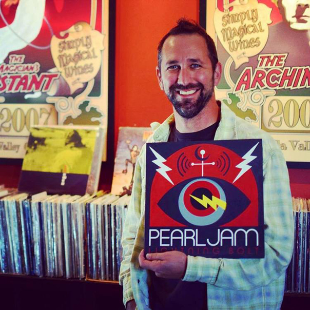 Trey Busch, Sleight of Hand Cellars, Pearl Jam