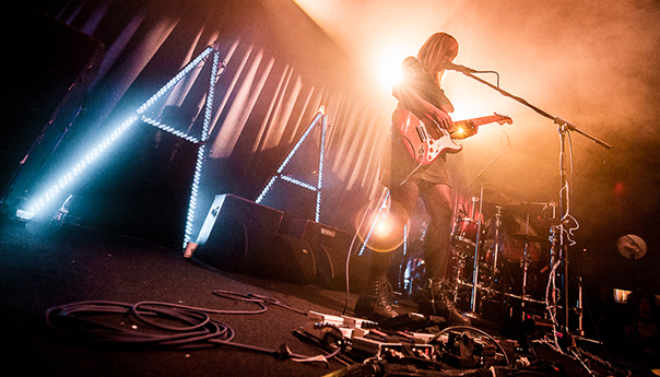 PHOTOS: The Joy Formidable roars like a grizzly at the Independent