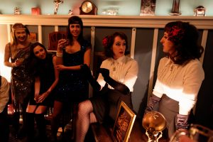 The Poubelle Twins, The Speakeasy, SF Sketchfest, Sketchfest at the Speakeasy