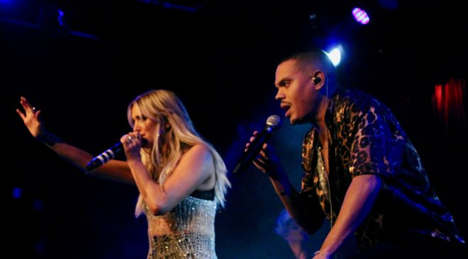 REVIEW: Ashlee Simpson and Evan Ross spread the love at Slim's
