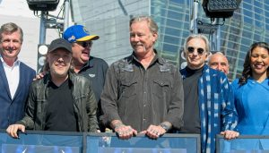 Lars Ulrich, James Hetfield, Metallica, San Francisco Symphony, Michael Tilson Thomas, Chase Center, London Breed, Joe Lacob