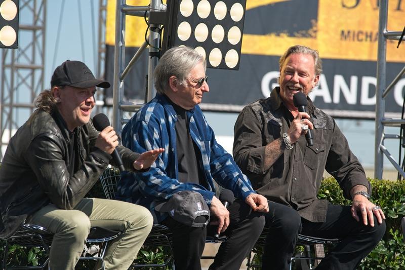 Lars Ulrich, James Hetfield, Metallica, San Francisco Symphony, Michael Tilson Thomas, Chase Center