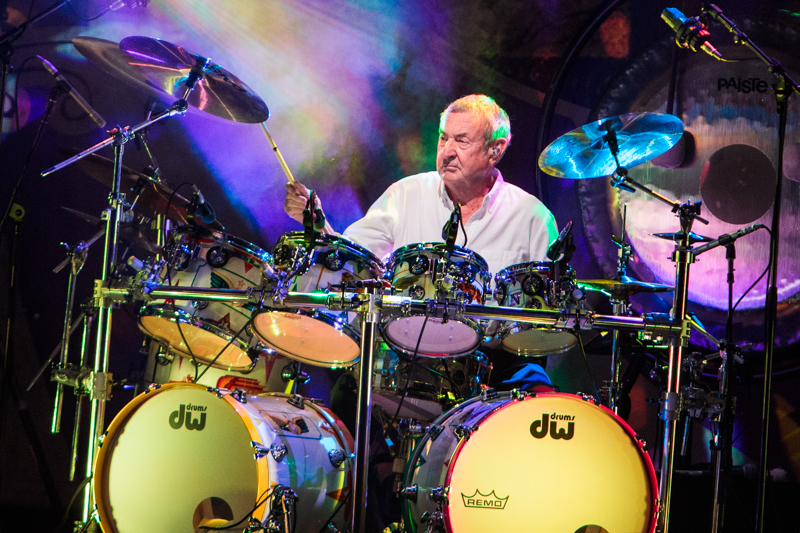Pink Floyd's Nick Mason sets the controls for old magic at