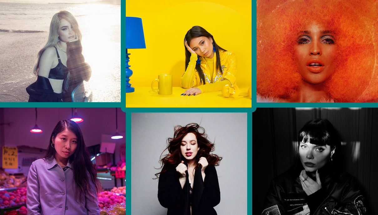 Kim Petras, NIKI, Emotional Oranges, Winona Oak, Lily Kershaw, Ciel.