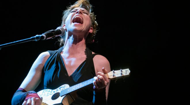 REVIEW: Amanda Palmer bares her soul in her one-woman show at the Warfield