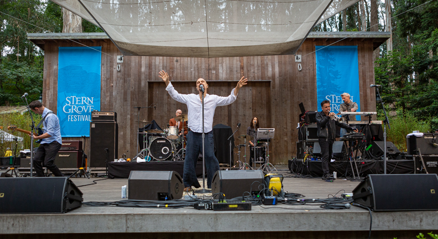 Stern Grove Festival 2020.The Psychedelic Furs James Raise The Temps At Stern Grove