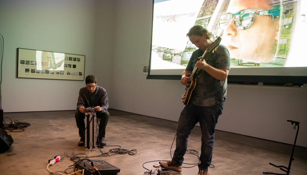 No Age perform at the McEvoy Foundation for the Arts in San Francisco on Sept. 7, 2019.
