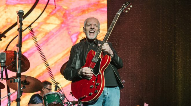 Peter Frampton makes saying goodbye look effortless in career finale in Concord