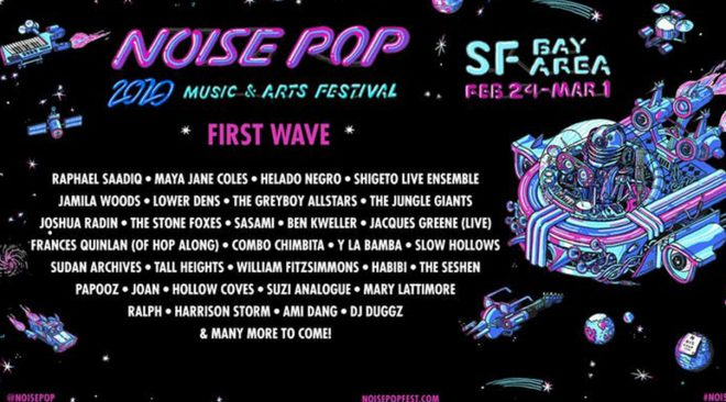 Noise Pop drops initial 2020 festival lineup, tickets on sale