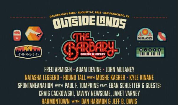 Fred Armisen, Adam Devine top Outside Lands' comedy lineup