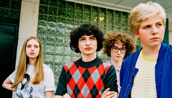 <em>Stranger Things</em>' Finn Wolfhard and Calpurnia playing in the right-side up