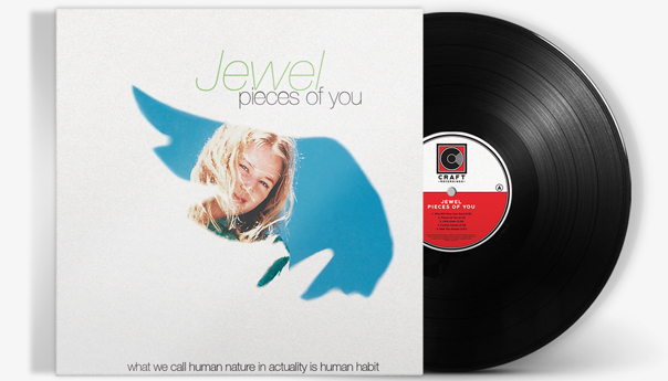 Jewel's Grammy-nominated debut, 'Pieces of You,' re-released on vinyl