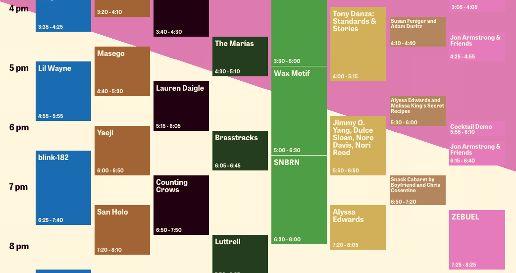 Outside Lands 2019 Schedule Outside Lands announces daily set times | RIFF Magazine