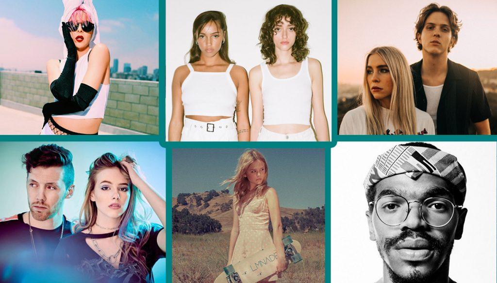 Alex Villa, Stereo Jane, Boy In Space, KAMAUU, Emily Lind, Loote
